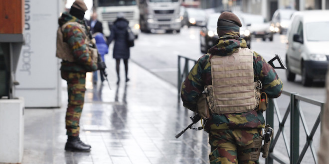 police in Brussels