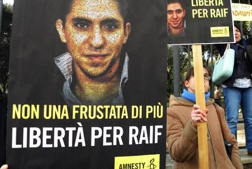 Raif Badawi. PHOTO: Ilustracioni Flickr.