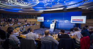 "Press seminar for audio-visual media - ' #EUElections2019 - one year to go '- Eurobarometer ""One year to the EE19"""